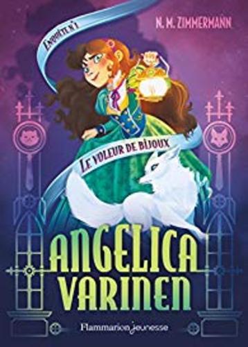 """Afficher """"Angelica Varinen (Enquête N°1) - Le voleur de bijoux"""""""